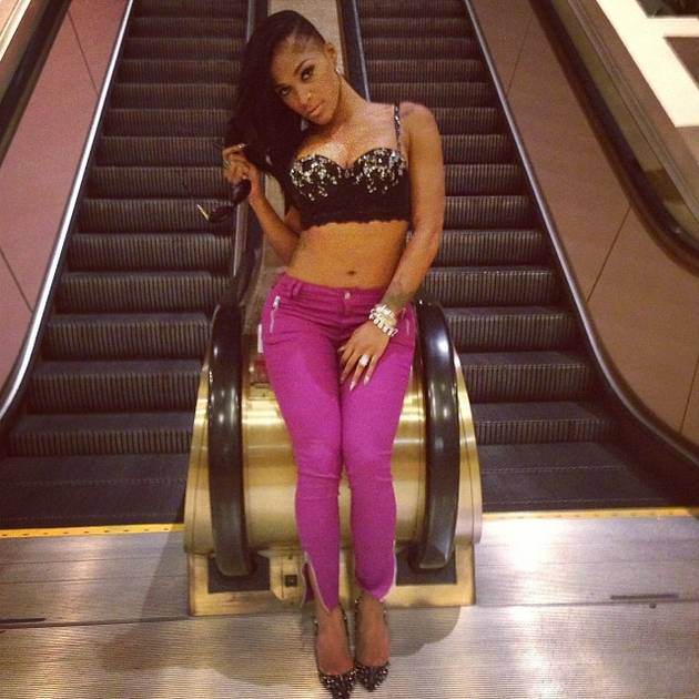 Erica Dixon and Joseline Hernandez Almost Fight Off-Camera! (VIDEO)