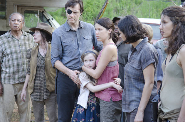 The Walking Dead: Meyrick Murphy Praises David Morrissey (and His Secret Trick)