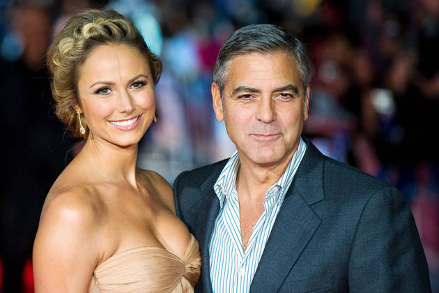 "George Clooney's Engagement ""Irked"" Ex-Girlfriend Stacy Keibler — Report"
