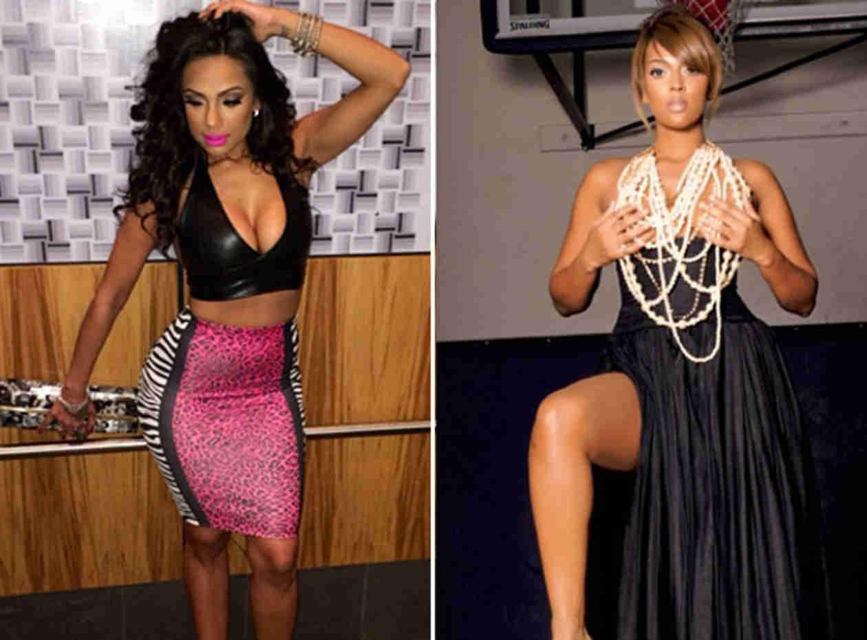 Love & Hip Hop's Erica Mena Slams Basketball Wives LA Star Sundy Carter on Twitter