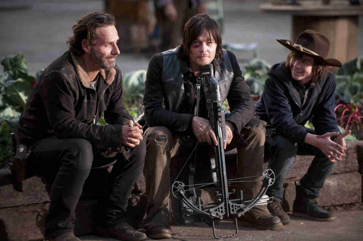 Which The Walking Dead Cast Member Is Chandler Riggs Closest to? He Says…