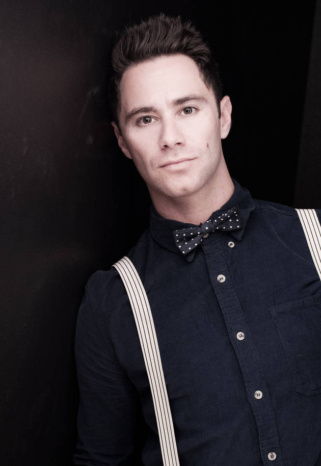 Check Out DWTS Pro's Sasha Farber Showing Off His Mad Cha-Cha Skills (VIDEO)