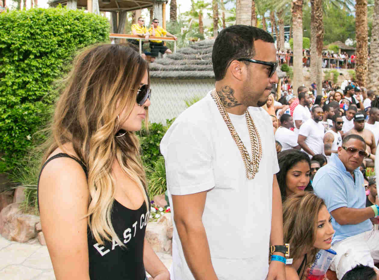 Khloe Kardashian Rumored BF French Montana Gets Cozy With Another Girl!