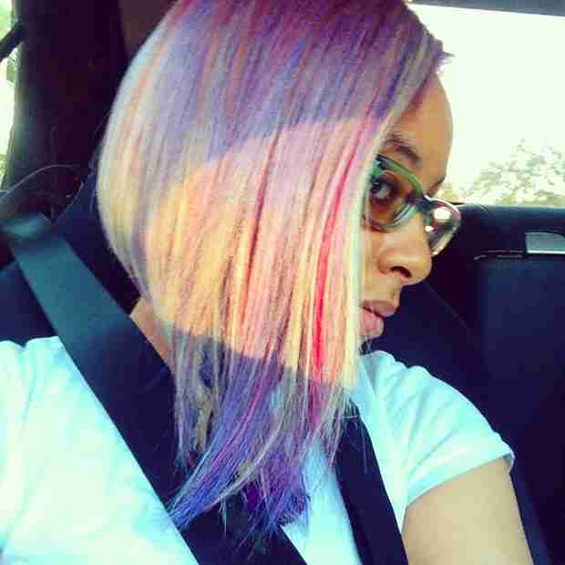Raven-Symone Shows Off New Bob Haircut — See Her Colorful 'Do! (PHOTOS)