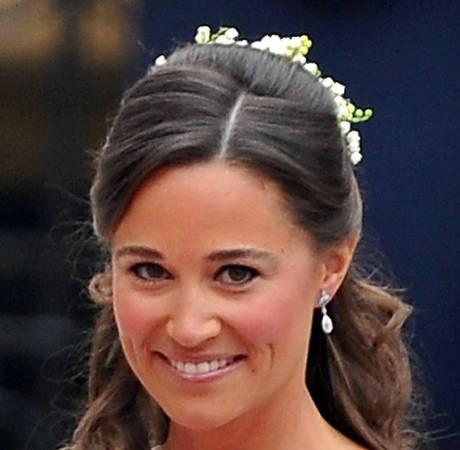 Pippa Middleton on Her Bridesmaid Dress, Kate's Royal Wedding, and Prince George!