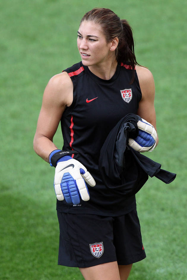 Hope Solo Pleads Not Guilty to Domestic Violence