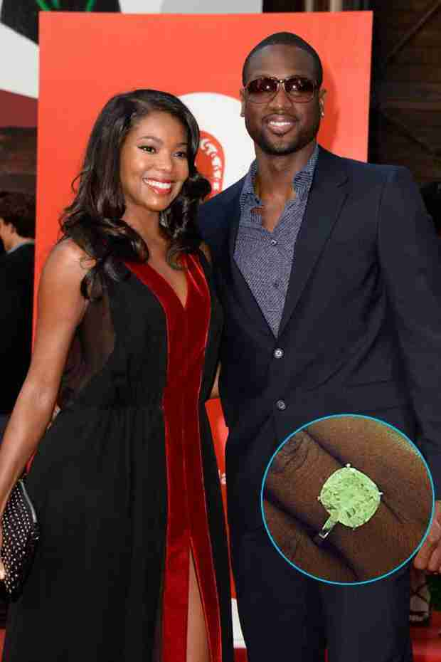 "Gabrielle Union Wearing an ""Unexpected"" Dress For Her Wedding to Dwayne Wade"