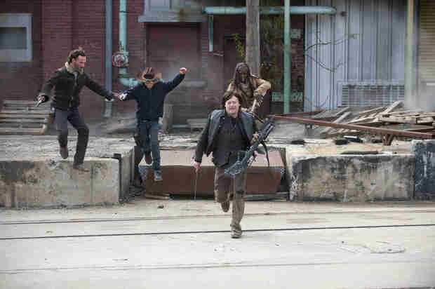 "The Walking Dead Season 5: More Talk of a Cure and ""Mind-Blowing"" Stuff Ahead"