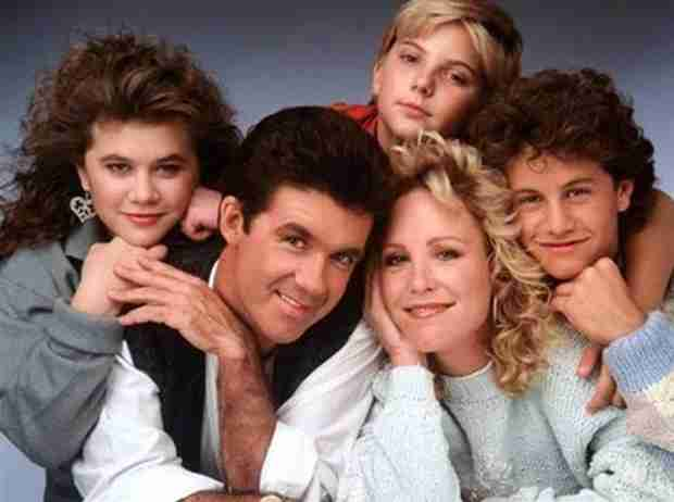 """Alan Thicke Hosts """"Growing Pains"""" Reunion; Hangs with John Stamos"""