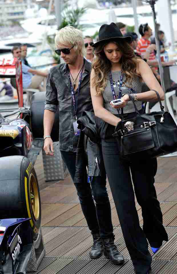 Nina Dobrev and Muse Drummer Dominic Howard Get Close in Monte-Carlo (PHOTO)