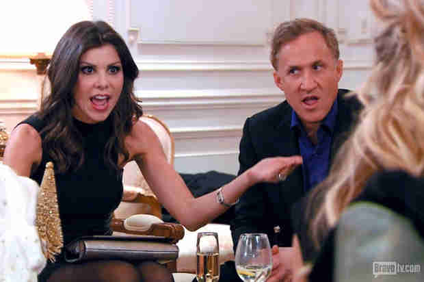 Did Heather Dubrow Fake That Phone Call? Terry Dubrow Says… (VIDEO)