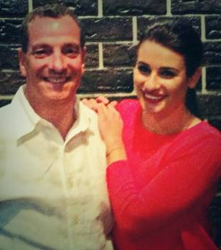 Lea Michele and Other Glee Stars Celebrate Father's Day With Adorable Throwback Photos