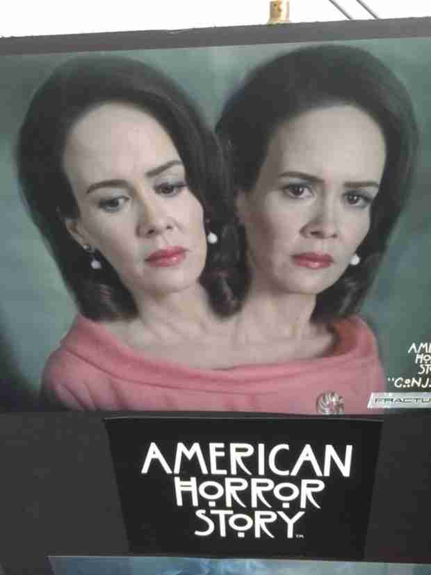 American Horror Story: Sarah Paulson's Freak Show Character Has One Body, Two Heads (UPDATE)