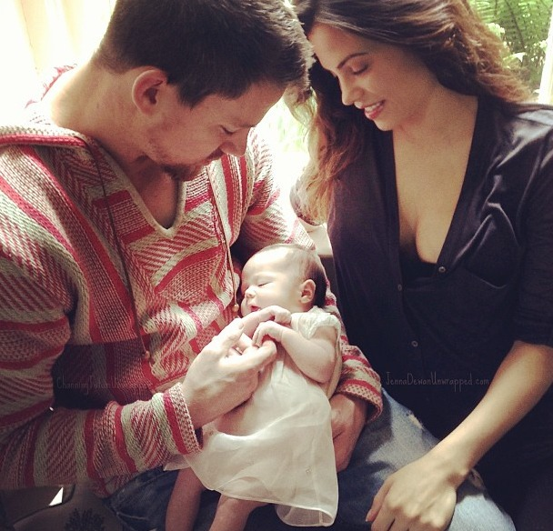 """Channing Tatum is Now """"Solid At Changing a Diaper"""" For Baby Everly (VIDEO)"""