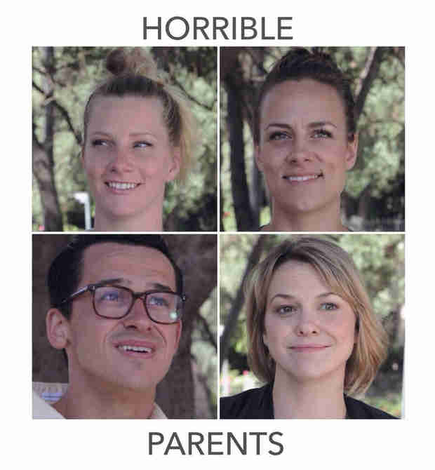 See a Poster For Heather Morris' Upcoming Short Film, Horrible Parents (PHOTO)
