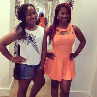 Todd Tucker: Kandi Burruss's Daughter Riley Stuck Up For Me With Mama Joyce!
