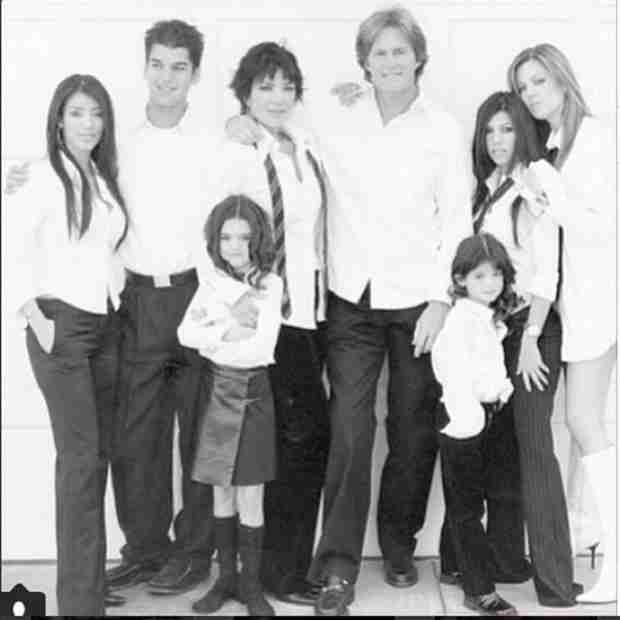 Kris Jenner Wishes Bruce Jenner a Happy Father's Day With Cute Throwback Pic (PHOTO)