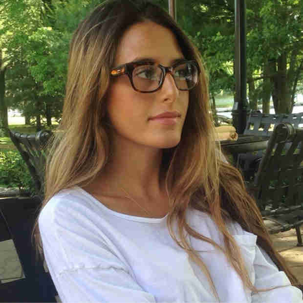 Lexi Manzo Shows Off New Glasses — Then Starts Crying in Them (PHOTO)