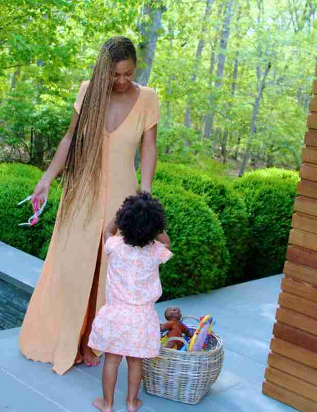 Blue Ivy's Curly Hair Now Has a Change.Org Petition (VIDEO)