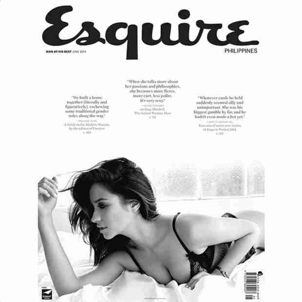 Shay Mitchell Covers Esquire Philippines in Sexy Black Lingerie (PHOTO)