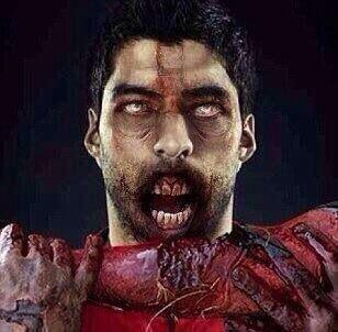 Suarez For The Walking Dead Season 5? Internet Bites Into Zombie-Cannibal Jokes