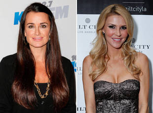 Kyle Richards and Brandi Glanville Have Adorable Family Dinner Together