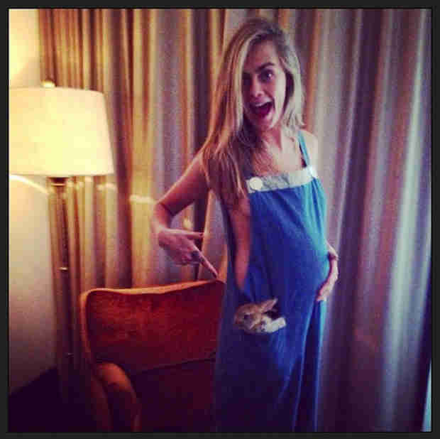 Cara Delevingne Pregnant? See The Shocking Baby Bump Photo!