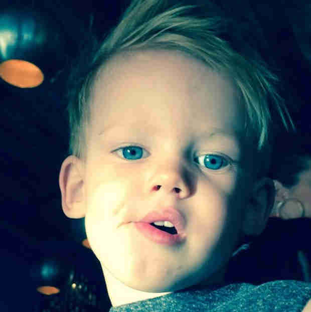 """Hilary Duff Shares New Photo of Luca: """"Mike and I Made Him"""" (PHOTO)"""