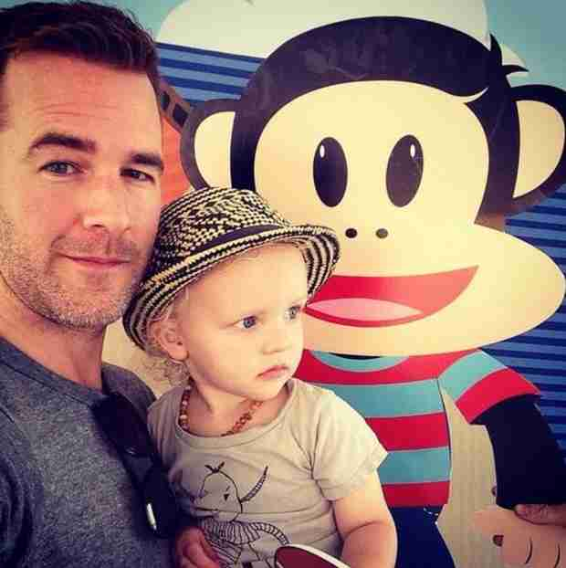 James Van Der Beek's Selfie With His Son — See How Big Joshua Is! (PHOTO)