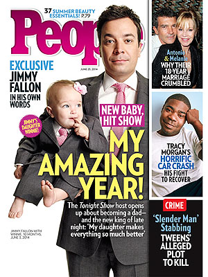 "Jimmy Fallon on Fatherhood: It's the ""Most Exciting, Amazing Thing That Ever Happened To Me"" (VIDEO)"