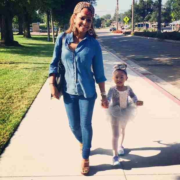 Christina Milian Takes Daughter Violet to Her Big Recital (PHOTO)