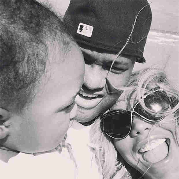 Tamar Braxton's Son, Logan, Turns 1! (PHOTO)