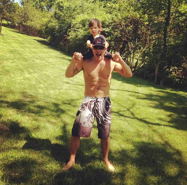 How Does Nick Lachey on Son Camden Bond? Hint: It Involves Singing!