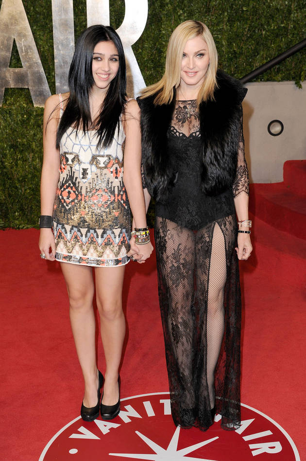 Madonna's Daughter, Lourdes, Goes to Prom! (PHOTO)