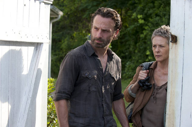 """Andrew Lincoln Raves About Melissa McBride: """"She's a Rare Talent"""""""