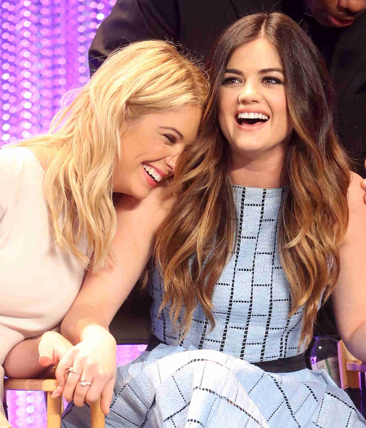 Ashley Benson and Lucy Hale Put Feud Rumors to Rest — See What These Besties Text Each Other! (PHOTO)