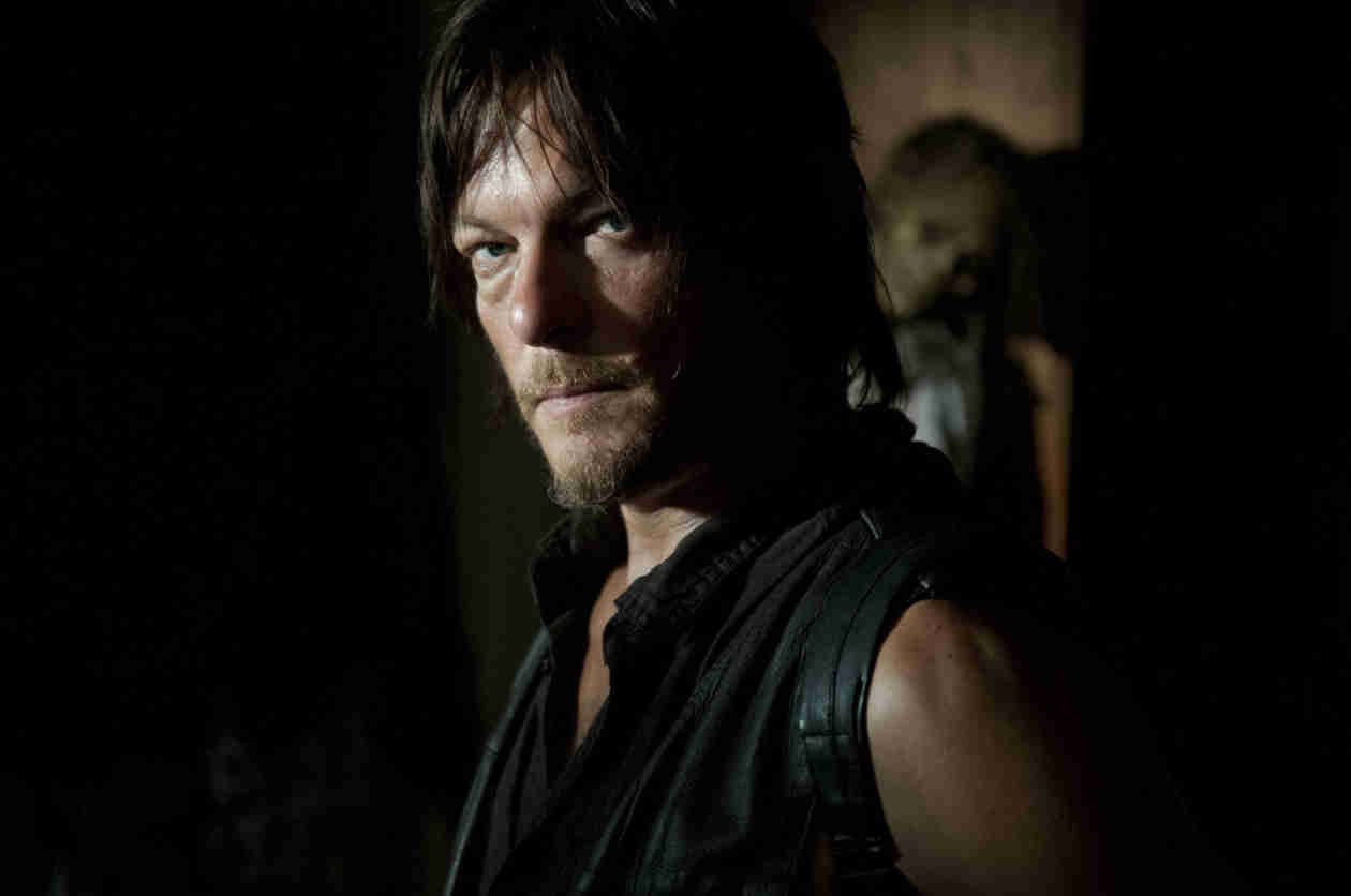Norman Reedus Wins TWO 2014 Guys' Choice Awards — Lauren Cohan Wins One Too!