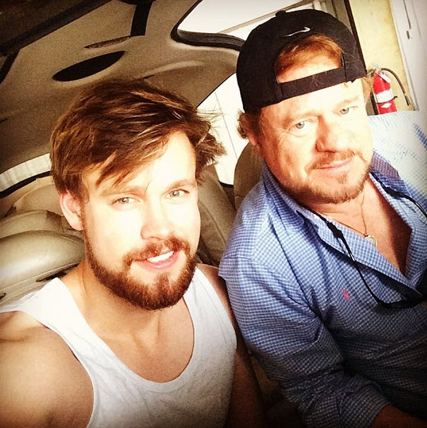 Chord Overstreet Is Rocking Some Serious Facial Hair! (PHOTOS)
