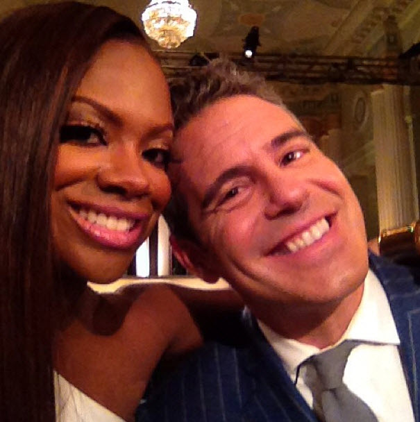 Why Didn't Andy Cohen Go to Kandi Burruss' Wedding? (VIDEO)