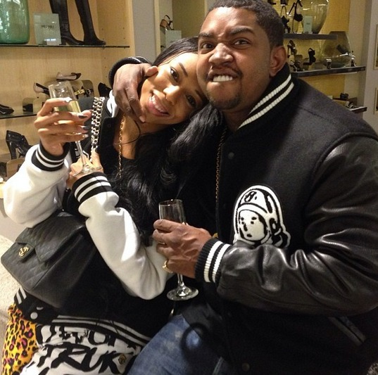Are Lil Scrappy and Bambi Engaged? There's a Ring! (PHOTO)
