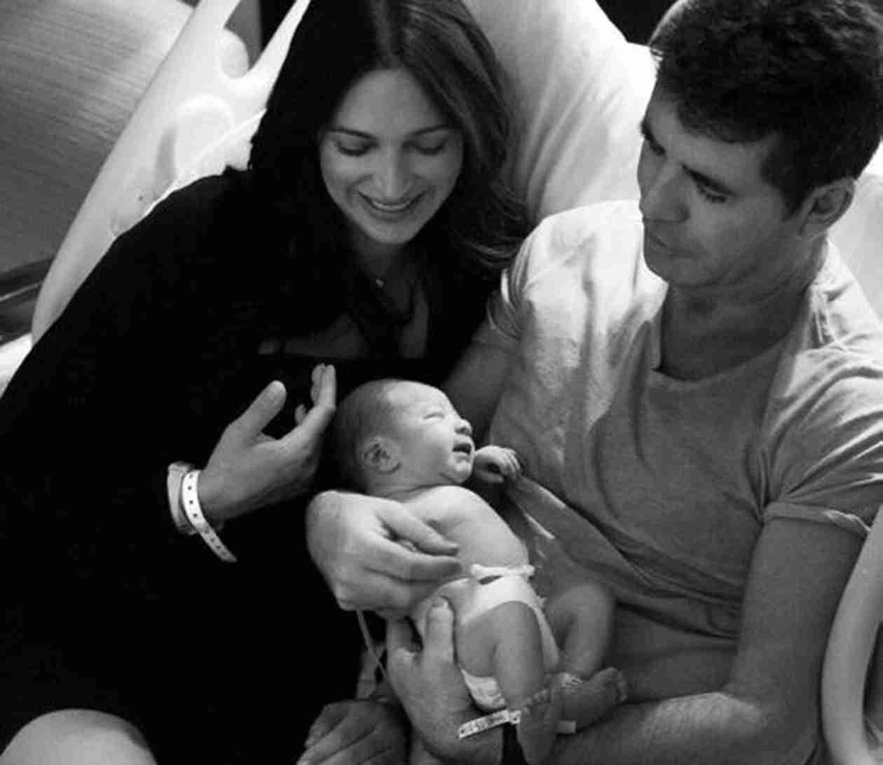 Simon Cowell Gives Son Eric a Bath — See the Sweet Moment! (PHOTO)