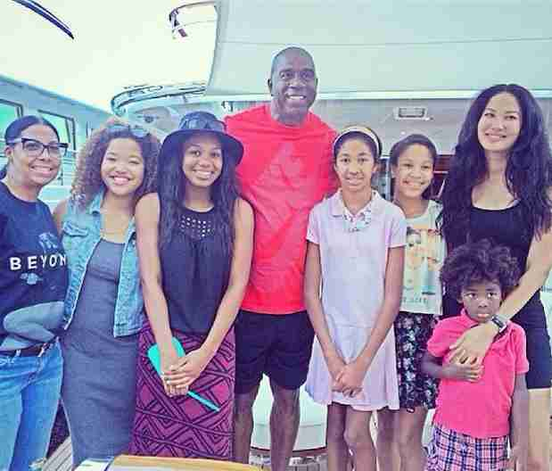 Kimora Lee Simmons and Her Family Met This Famous NBA Star (PHOTO)