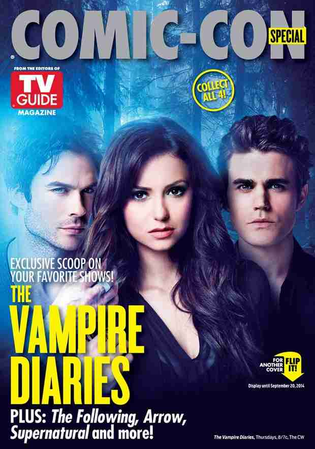 The Vampire Diaries Graces TV Guide Magazine in Special Comic-Con Issue (PHOTO)