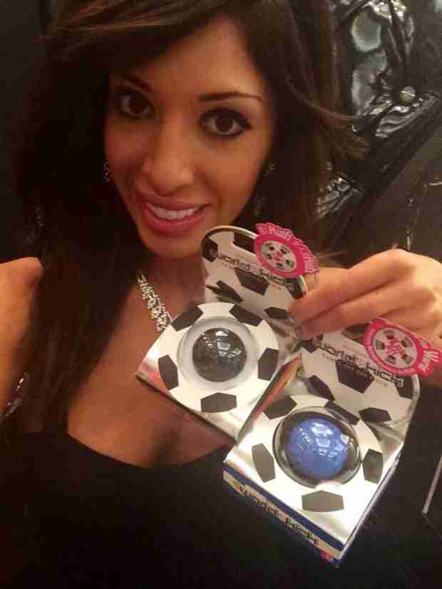 Farrah Abraham Celebrates The World Cup — With Soccer Ball Vibrators (PHOTO)