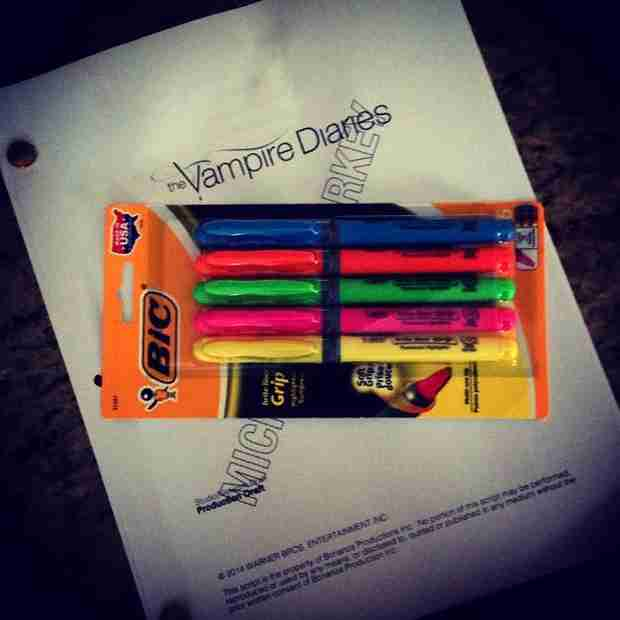 Vampire Diaries Season 6: Michael Malarkey Tweets Premiere Script — Team Enzo! (PHOTO)