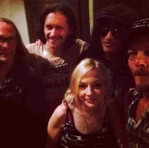 The Walking Dead: Emily Kinney, Norman Reedus, Greg Nicotero in Atlanta — After Filming? (PHOTOS)