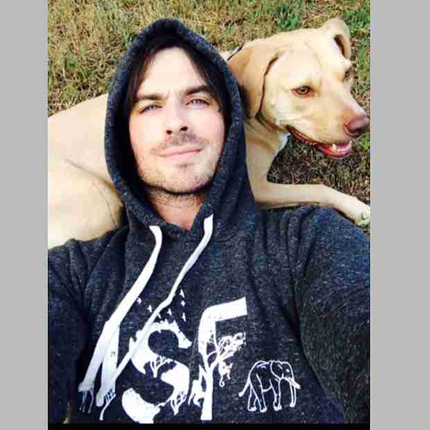 """Ian Somerhalder Hangs Out With His """"Baby Girl"""" — Who Is It? (PHOTO)"""