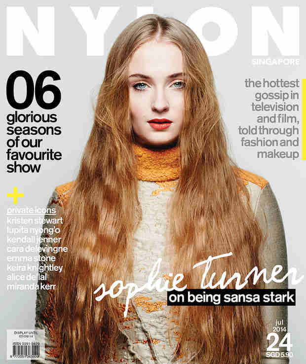 Game of Thrones Star Sophie Turner Nearly Unrecognizable on Cover of Nylon