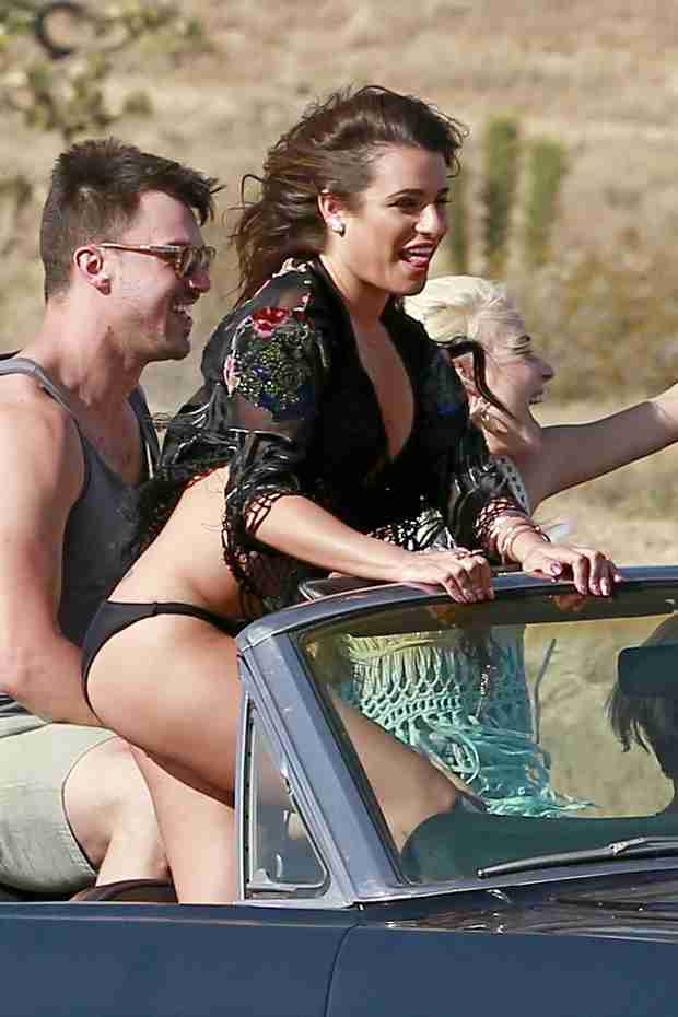 Lea Michele and Boyfriend Matthew Paetz Spotted Making Out!