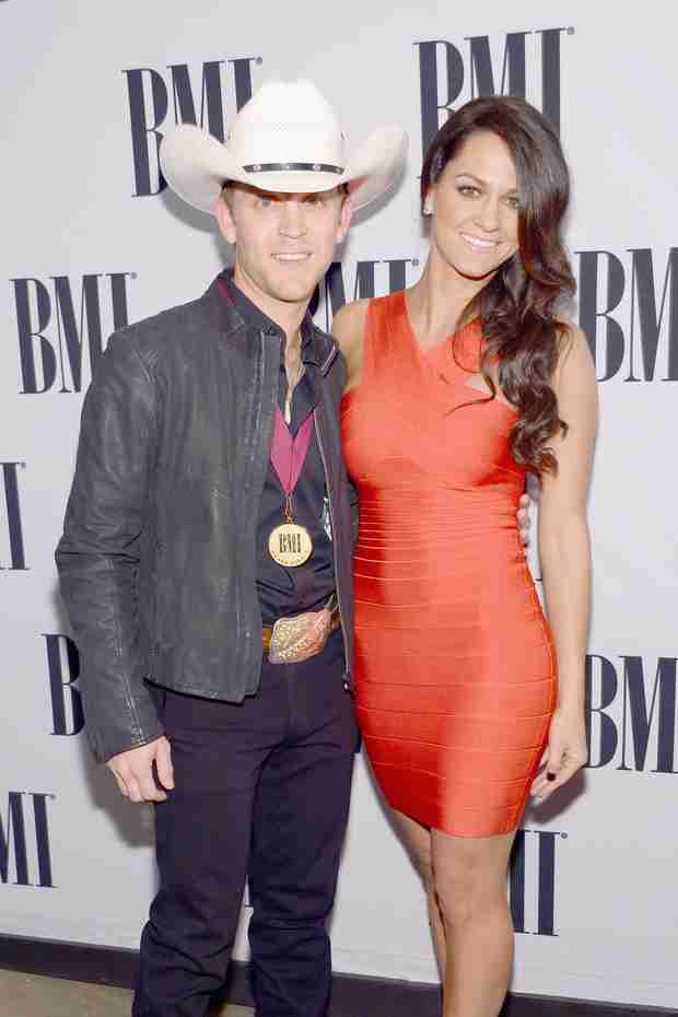 Country Crooner Justin Moore Shares First Photo of Third Daughter, Klein!